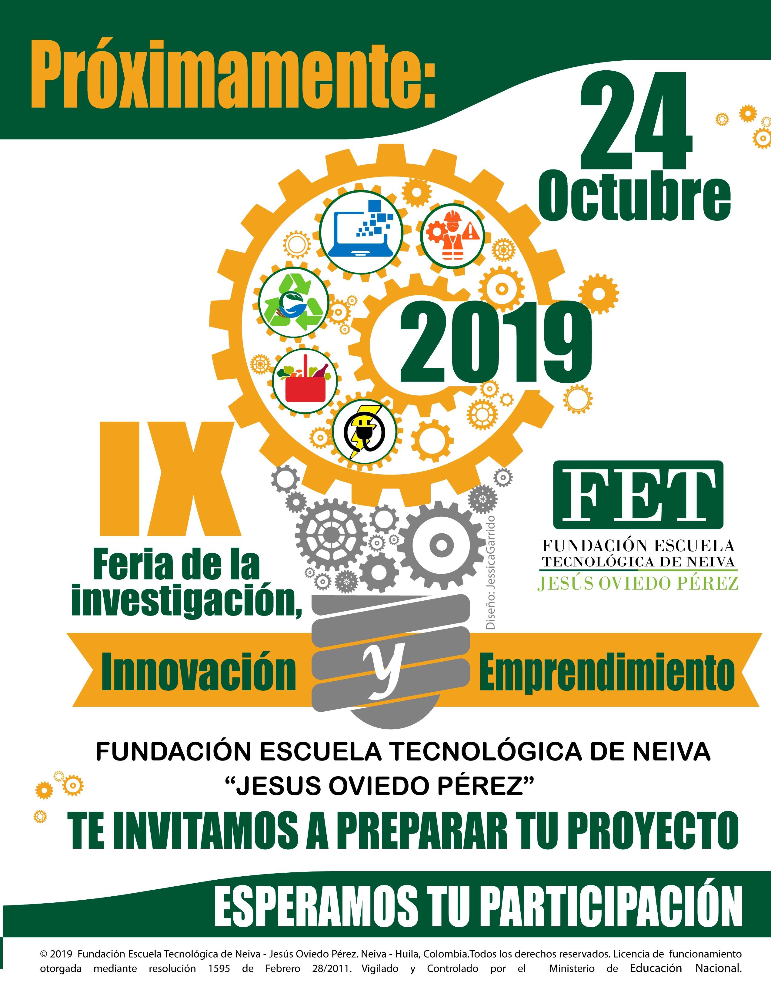 IX Feria de la Investigación y el Emprendimiento