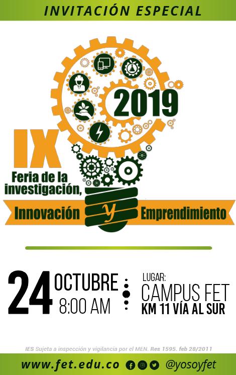 IX Feria de la Innovación y el Emprendimiento