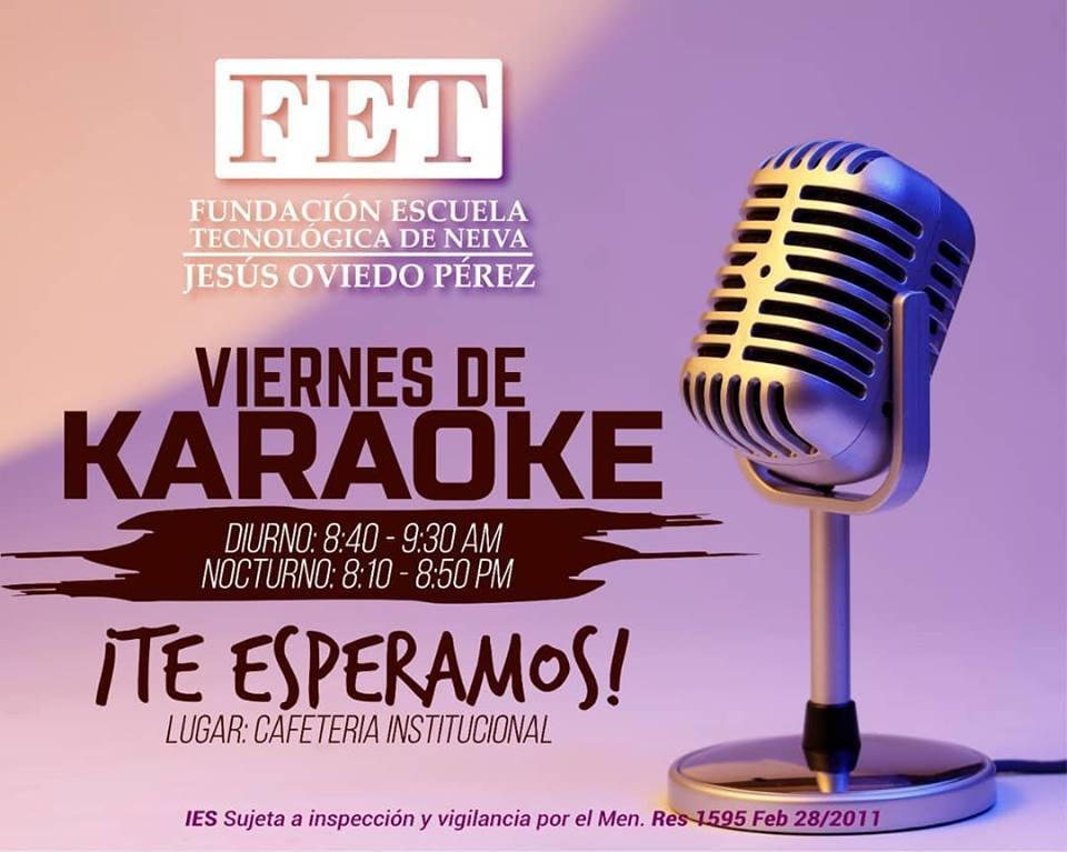 Viernes de Karaoke